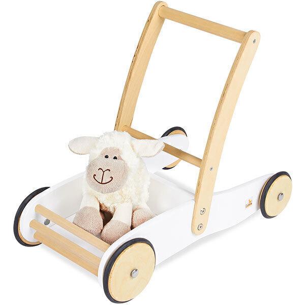 Pinolino - Chariot a marcher Uli Blanc - des 12 mois