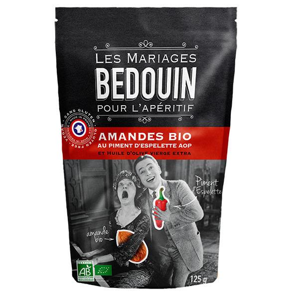 Bedouin - Amandes au piment d'Espelette 125g