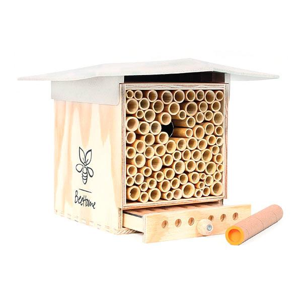 BeeHome - Abri pour abeilles sauvages Observer Crème