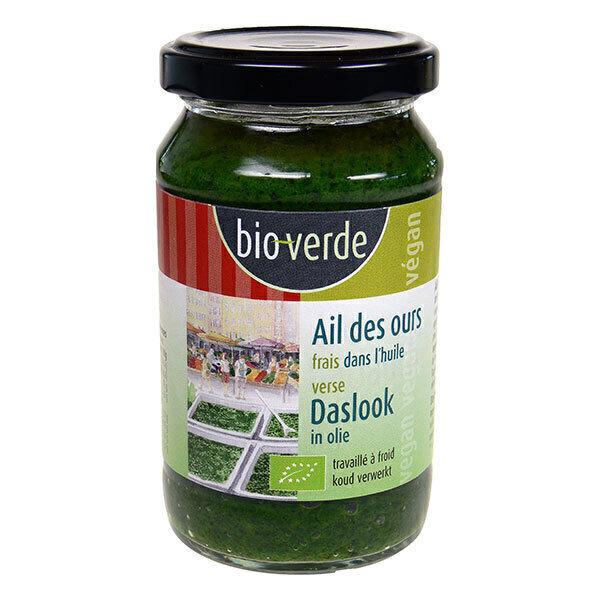 Bio Verde - Ail des ours frais dans l'huile végan 165g