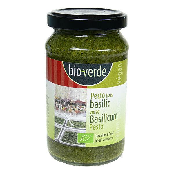 Bio Verde - Pesto frais végan au basilic 165g