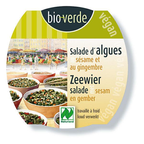 Bio Verde - Salade d'algues au sésame et au gingembre 100g