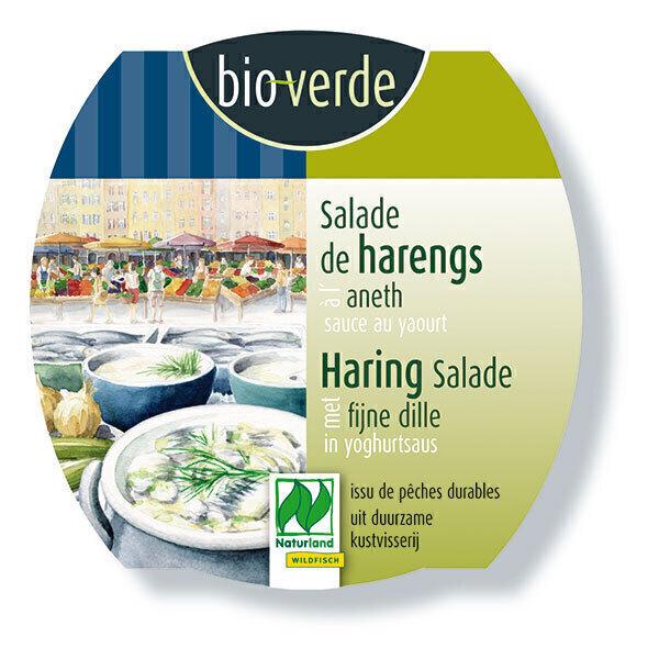 Bio Verde - Salade de harengs à l'aneth & sauce yaourt 150g