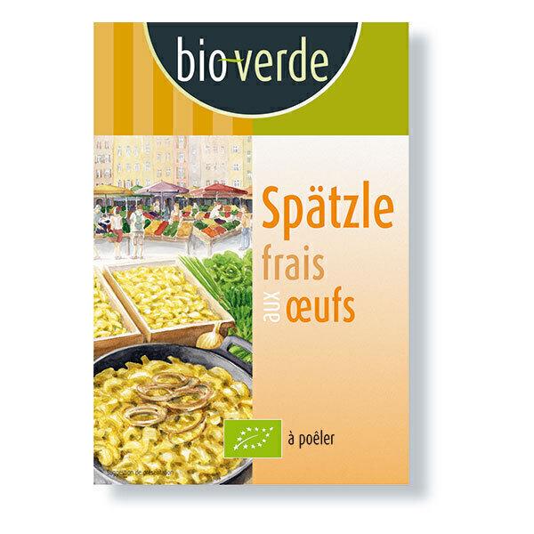 Bio Verde - Spätzle frais aux oeufs 400g
