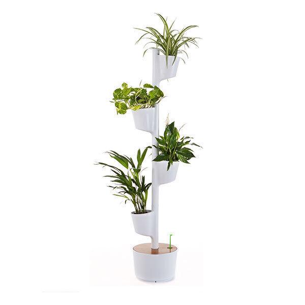 Citysens - Jardin d'intérieur connecté 4 plantes Blanc