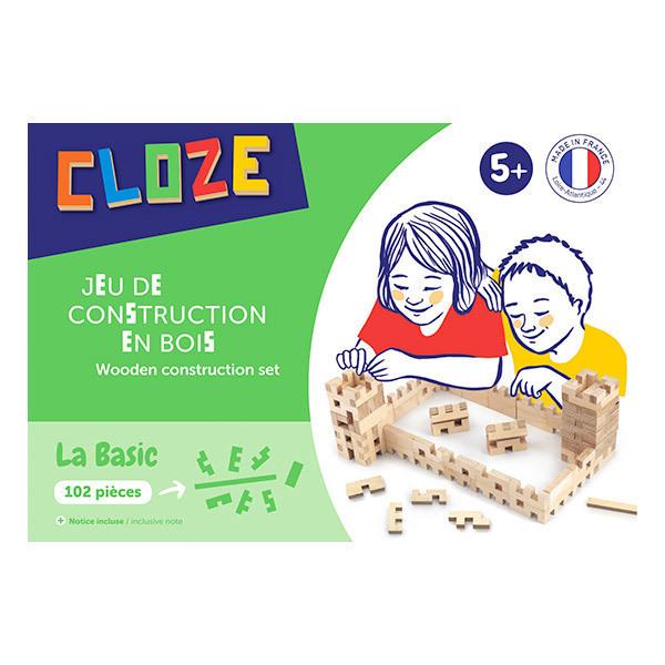 CLOZE - Boîte construction Basic 102 pcs - dès 3 ans