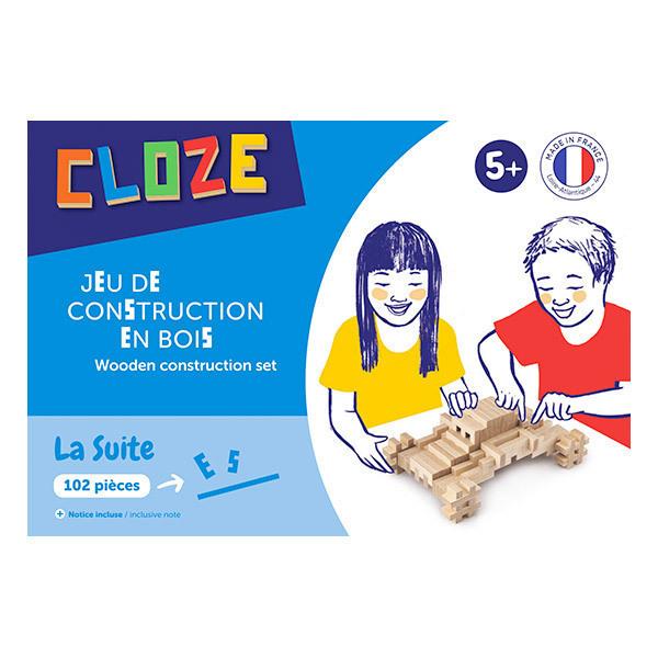 CLOZE - Boîte construction Suite 102 pcs - dès 3 ans