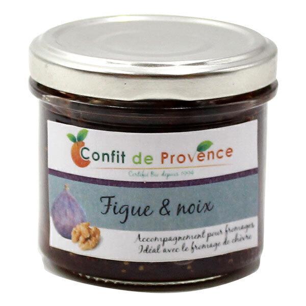Confit de Provence - Accompagnement fromage spécial Chèvre Figue Noix 125g