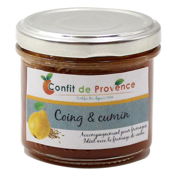 Confit de Provence - Accompagnement fromage spécial Vache Coing Cumin 125g