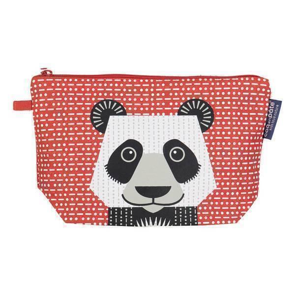 Coq En Pâte - Trousse à crayons coton bio Panda
