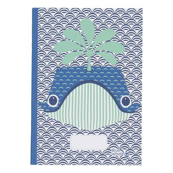 Coq En Pâte - Cahier d'écriture et dessin A5 Baleine 48 pages