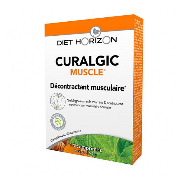 Diet Horizon - Curalgic Muscle - Boîte de 14 comprimés