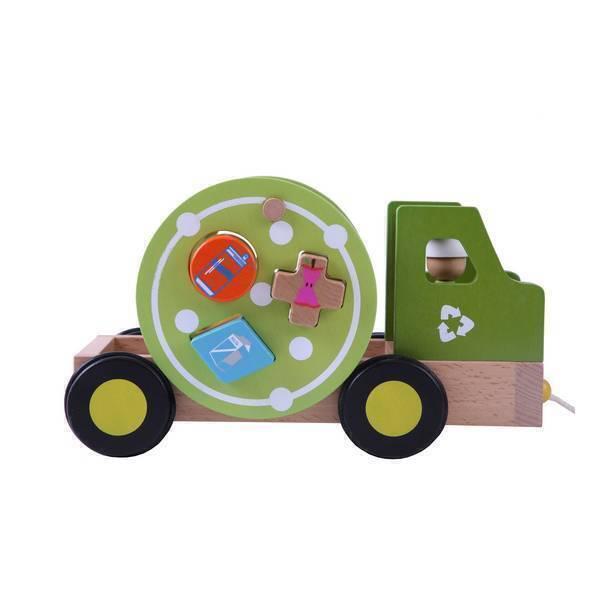 EverEarth - Camion de recyclage en bois - Dès 12 mois