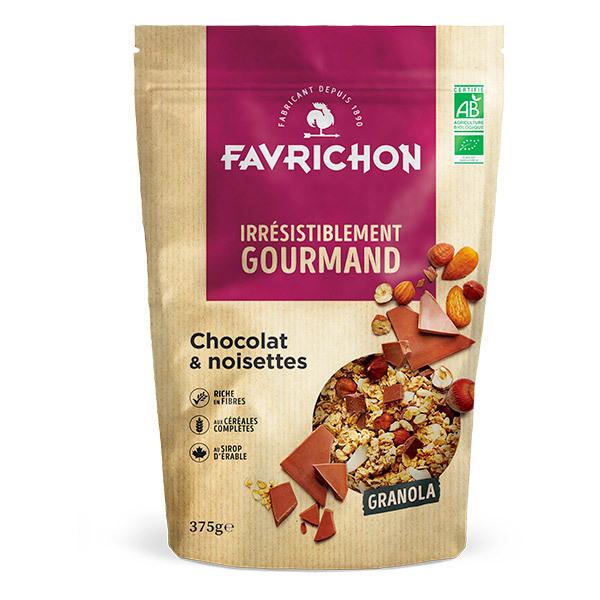 Favrichon - Granola chocolat noisettes 375g