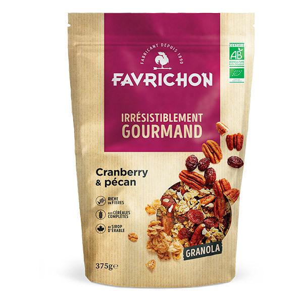 Favrichon - Granola cranberry pécan 375g