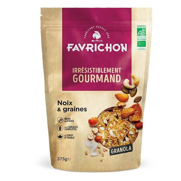 Favrichon - Granola noix & graines 375g