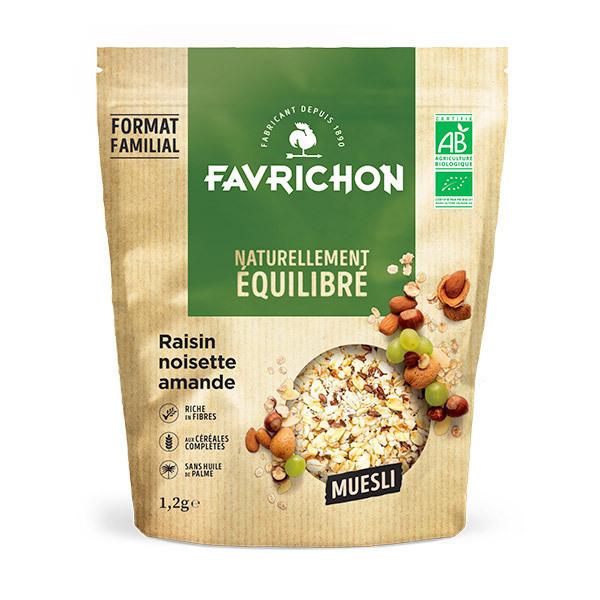 Favrichon - Muesli raisin noisette amande 1.2kg