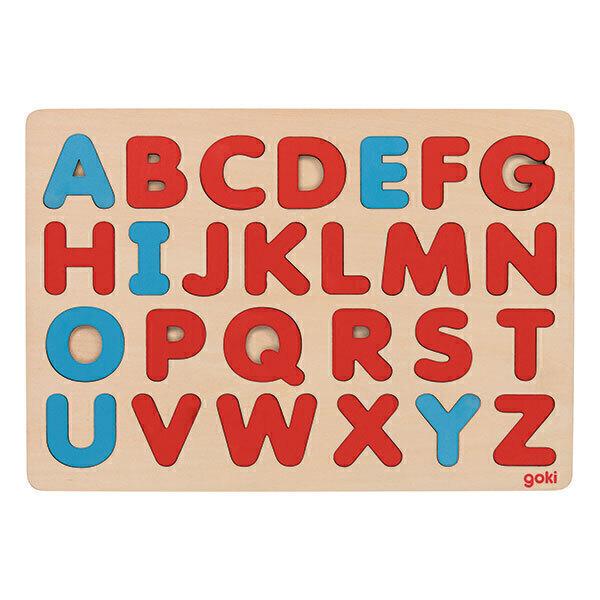 Goki - Alphabet puzzle méthode Montessori - Dès 3 ans