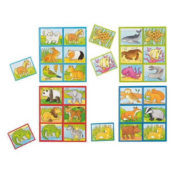 Goki - Loto des animaux - dès 3 ans