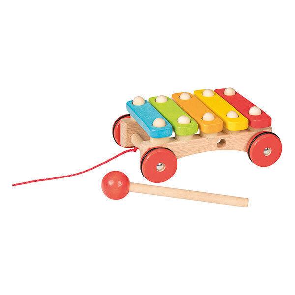 Goki - Xylophone à roulettes - dès 12 mois