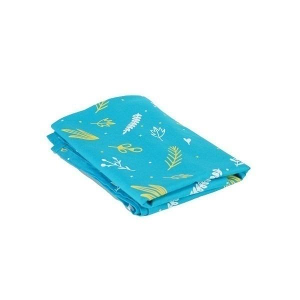 Greenweez - Emballage cadeaux Furoshiki Turquoise 65 x 65cm