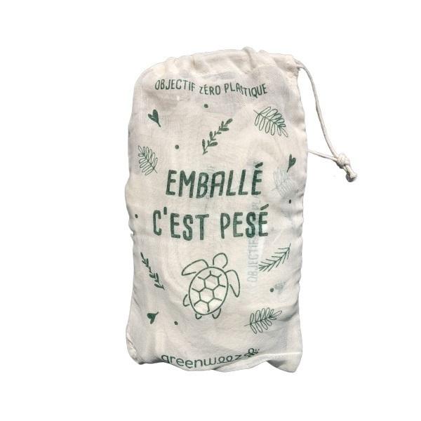 Greenweez - Lot de 15 sacs à vrac coton bio