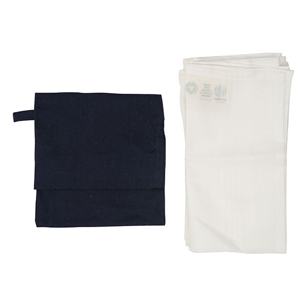 Greenweez - Lot de 3 mouchoirs coton bio