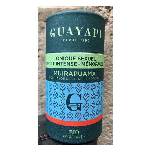 Guayapi - Muirapuama (Bois bandé) - 80 gélules de 320mg