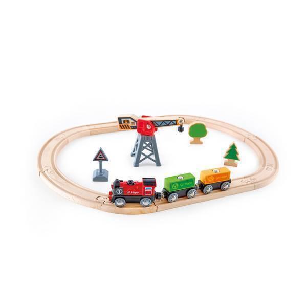 Hape - Circuit du train de marchandises - Dès 3 ans