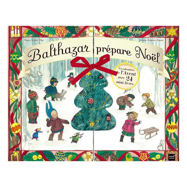 Hatier Jeunesse - Calendrier de l'avent - Balthazar prépare Noël - dès 3 ans