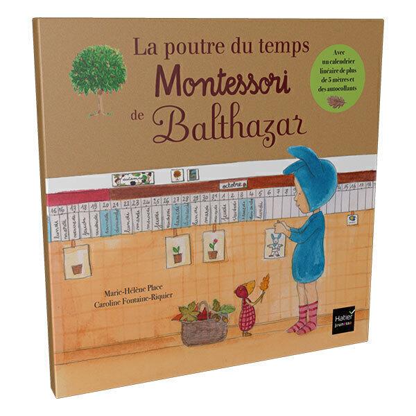 Calendrier Avent Balthazar.La Poutre Du Temps Montessori De Balthazar Des 4 Ans