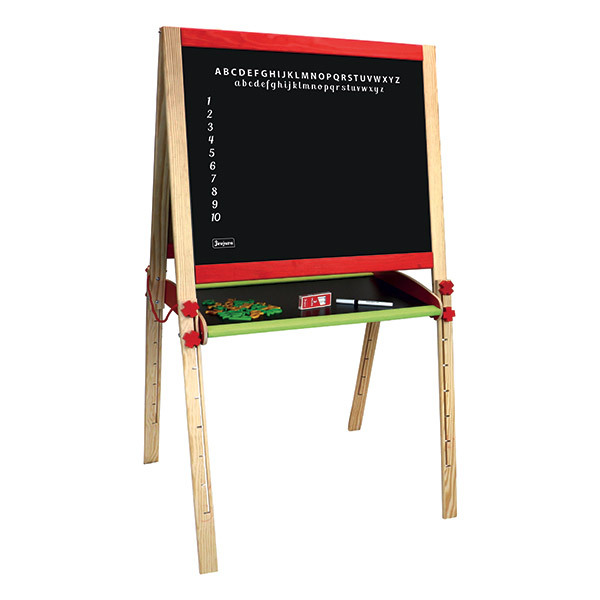 Jeujura - Grand tableau multifonctions réglable 120cm - Dès 3 ans
