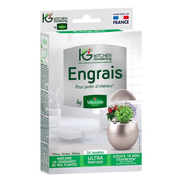 Kitchen Gardening - Engrais pour hydroponie 24 dosettes