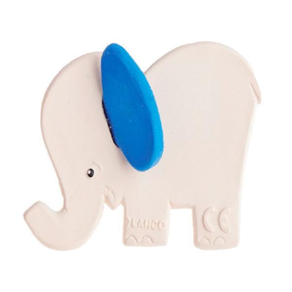 Lanco Toys - Hochet dentition Eléphant bleu de dentition - dès la naissance