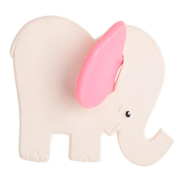 Lanco Toys - Hochet dentition Eléphant rose de dentition - dès la naissance