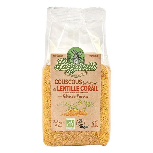 Lazzaretti - Couscous de lentilles corail 400g