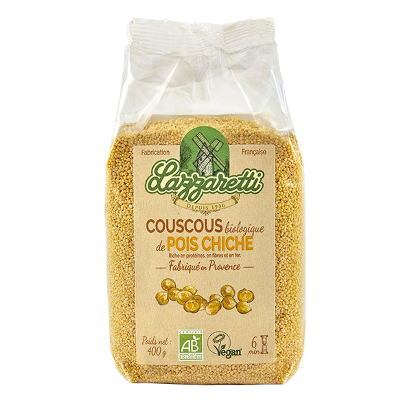 Lazzaretti - Couscous de pois chiches 400g