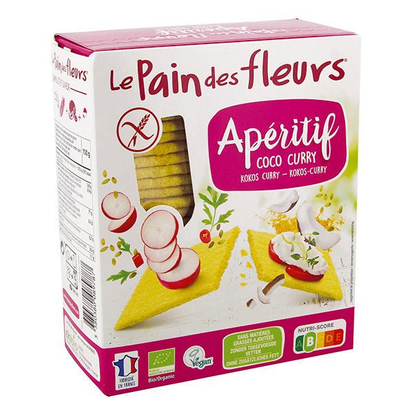 Le pain des fleurs - Pain des fleurs Tartine coco curry 150g
