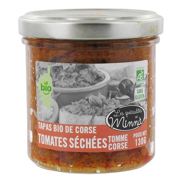 Les spécialités de Minnà - Tapas tomates séchées et tomme de brebis 130g