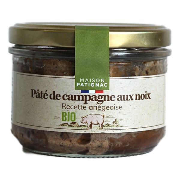 Maison Patignac - Pâté de campagne aux noix 180g