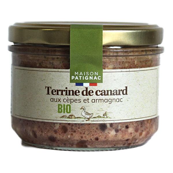 Maison Patignac - Terrine de canard aux cèpes et armagnac 180g