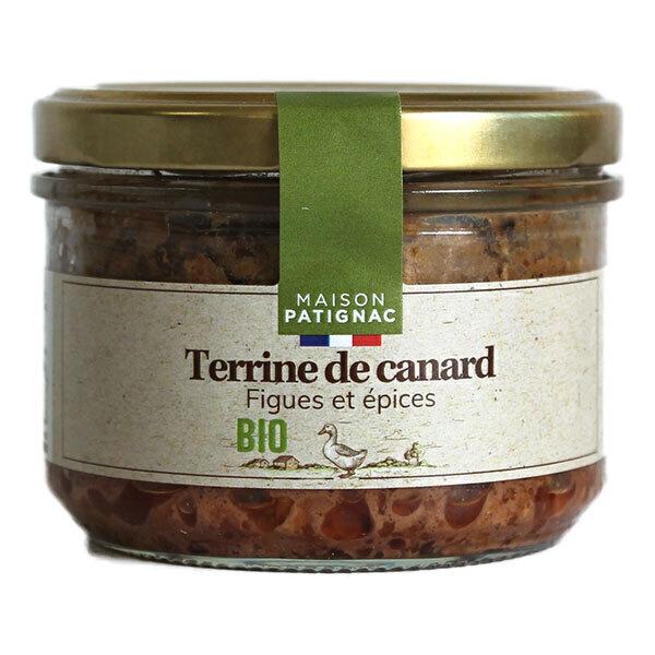 Maison Patignac - Terrine de canard aux figues et épices 180g