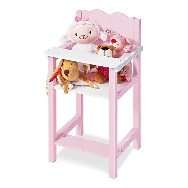 Pinolino - Chaise haute de poupée Jasmin - dès 3 ans