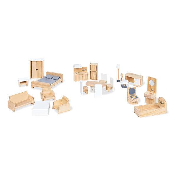 Pinolino - Kit de meubles maison de poupée - dès 3 ans