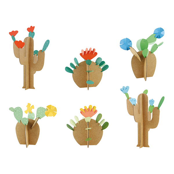 Pirouette cacahouete - Kit créatif Cactus - Dès 6 ans