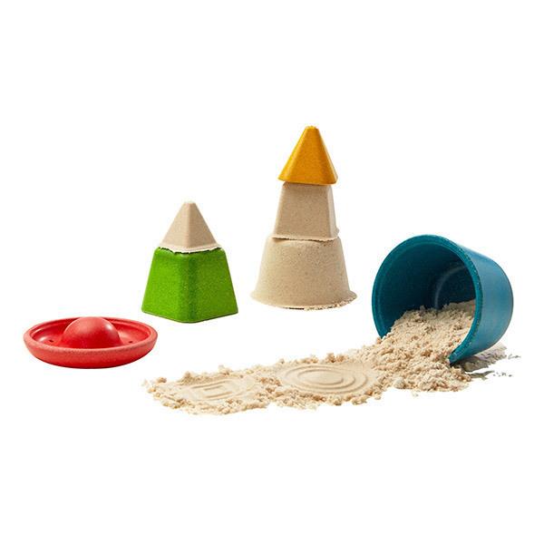 Plan Toys - Mes formes à mouler pour le sable - dès 24 mois