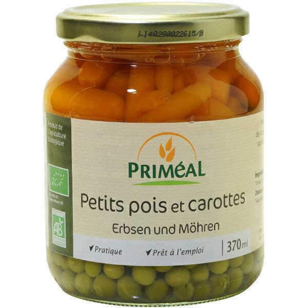 Priméal - Petit pois carottes 370ml