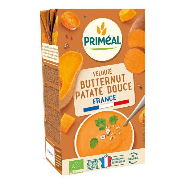 Priméal - Velouté butternut patate douce 1L