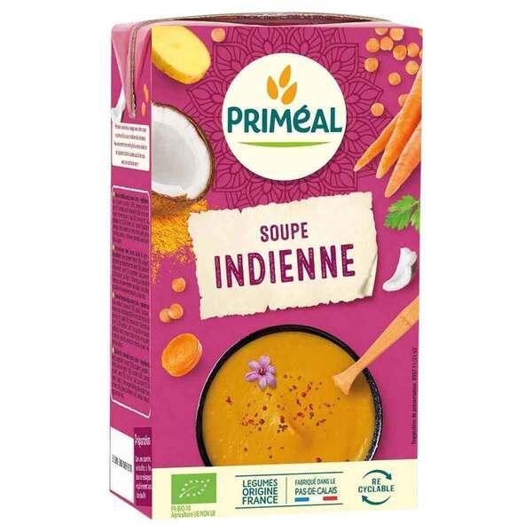 Priméal - Velouté lentilles corail coco curry 1L