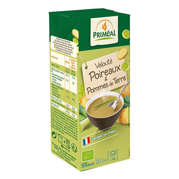 Priméal - Velouté poireaux et pomme de terre 33cl